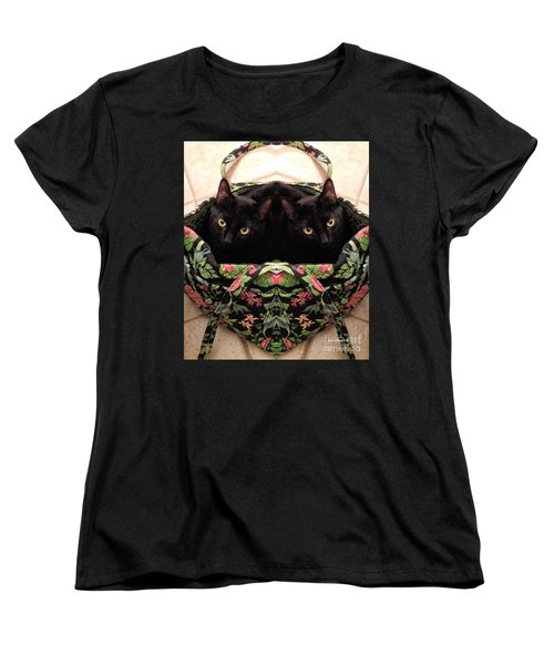 Women's T-Shirt (Standard Cut) featuring the photograph Twins by Luther Fine Art