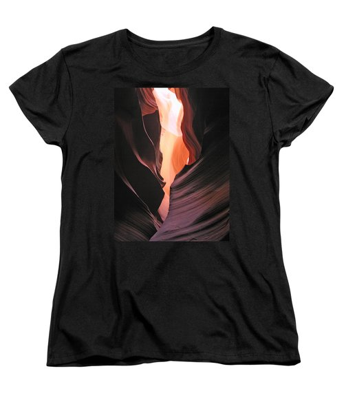Twisted Canyon Women's T-Shirt (Standard Cut) by Marcia Socolik