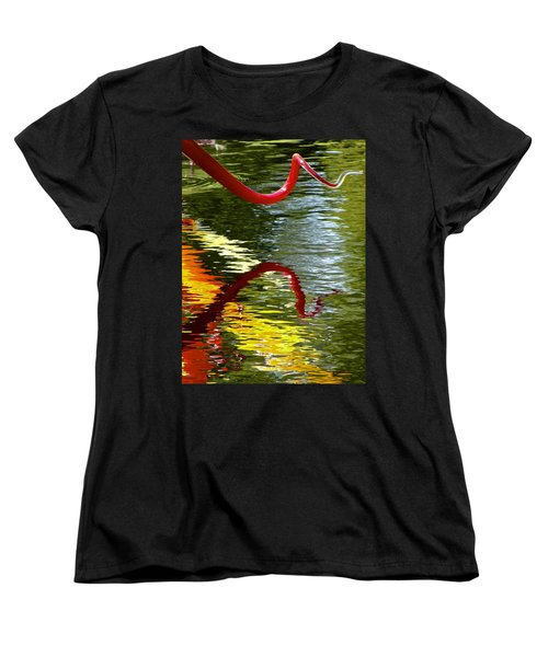 Twisted Ripples Women's T-Shirt (Standard Cut) by Charlie Brock