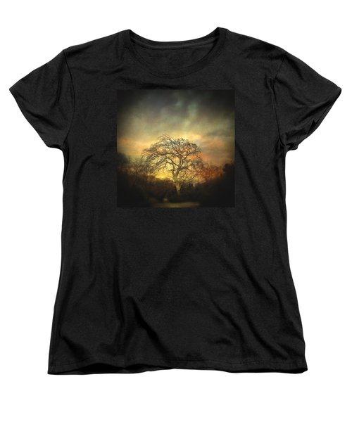 Un Dernier Crepuscule Women's T-Shirt (Standard Cut) by Taylan Apukovska
