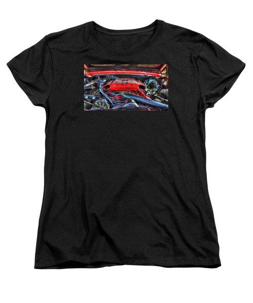 Under The Hood Women's T-Shirt (Standard Cut) by Amanda Stadther