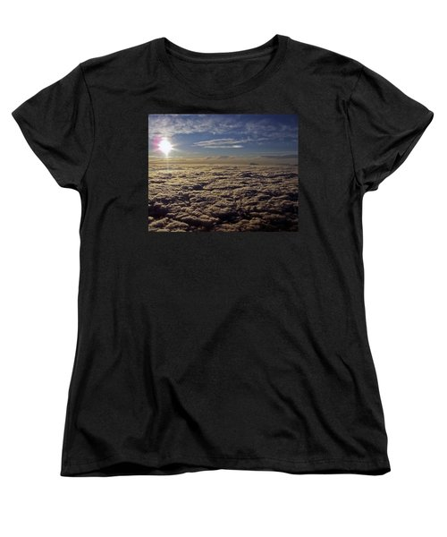Women's T-Shirt (Standard Cut) featuring the photograph Undercast And Sun by Greg Reed
