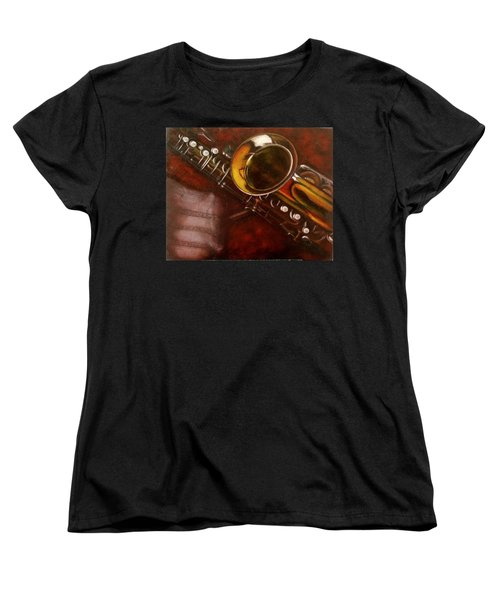Unprotected Sax Women's T-Shirt (Standard Cut) by Sean Connolly