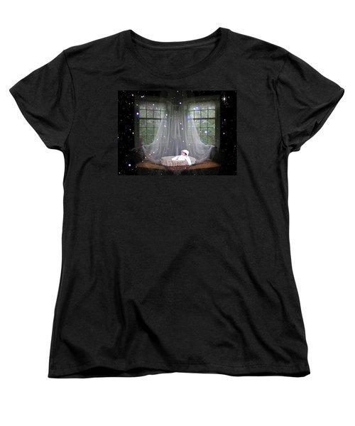 Unto Us A Child Is Born Women's T-Shirt (Standard Cut) by Paula Ayers