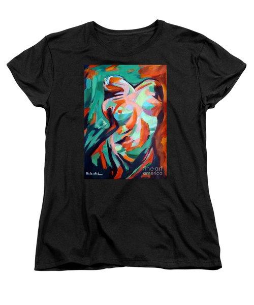Uplift Women's T-Shirt (Standard Cut) by Helena Wierzbicki