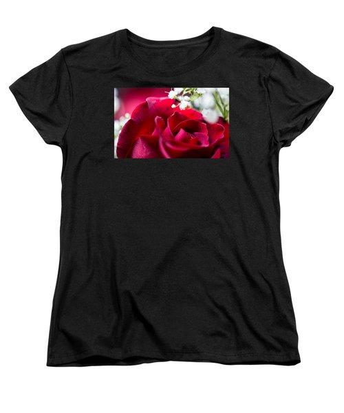 Valentine Women's T-Shirt (Standard Cut) by Alex Lapidus