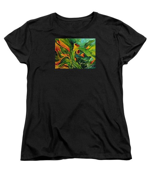 Variation  No.2 Women's T-Shirt (Standard Cut) by Teresa Wegrzyn