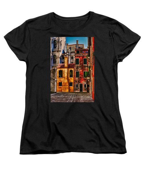 Venice Homes Women's T-Shirt (Standard Cut) by Jerry Fornarotto