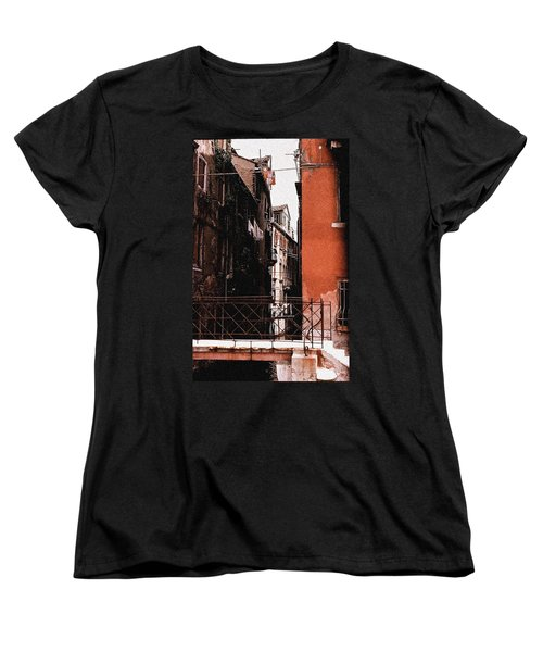 Women's T-Shirt (Standard Cut) featuring the photograph A Chapter In Venice by Ira Shander