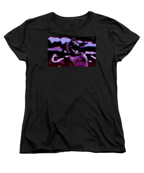 Venus Williams Queen V Women's T-Shirt (Standard Cut) by Brian Reaves