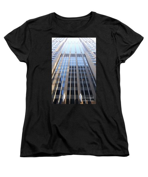 Vertical Chicago By Jammer Women's T-Shirt (Standard Cut) by First Star Art