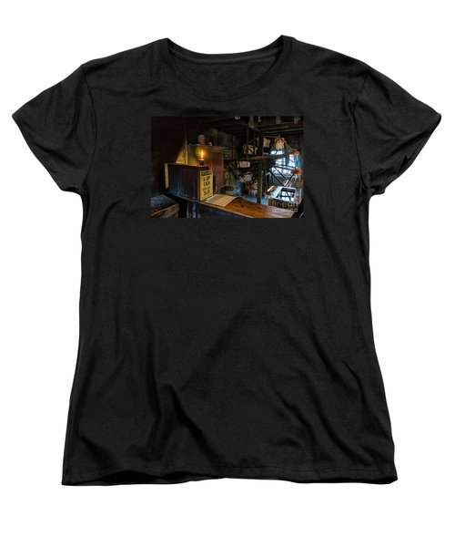 Victorian Candle Factory Women's T-Shirt (Standard Cut) by Adrian Evans