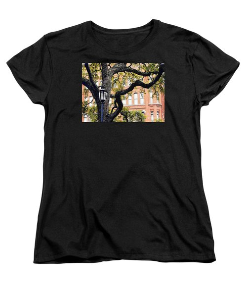 View From The Square Women's T-Shirt (Standard Cut) by Lydia Holly