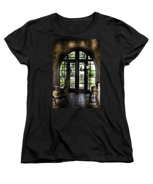 View To The Past Women's T-Shirt (Standard Cut) by Susan Molnar