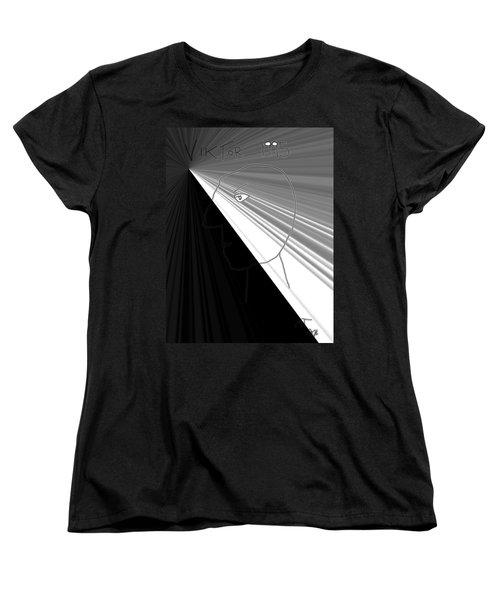 Women's T-Shirt (Standard Cut) featuring the photograph Viktor Rogy 1995 by Sir Josef - Social Critic - ART