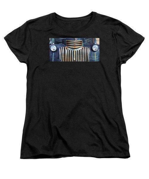 Vintage Chevrolet 005 Women's T-Shirt (Standard Cut) by Robert ONeil