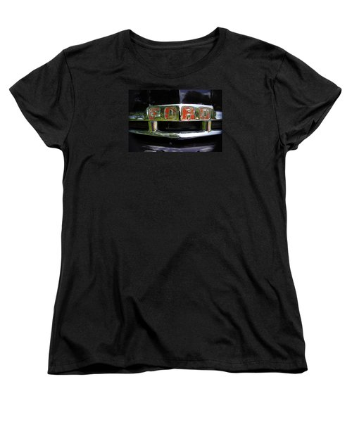 Vintage Ford Women's T-Shirt (Standard Cut) by Laurie Perry