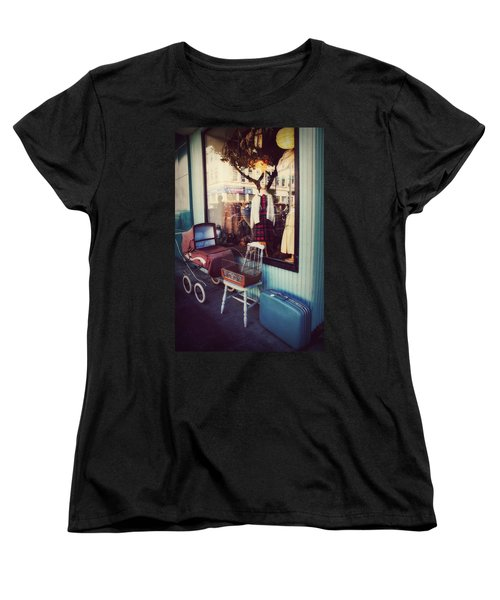 Women's T-Shirt (Standard Cut) featuring the photograph Vintage Memories by Melanie Lankford Photography