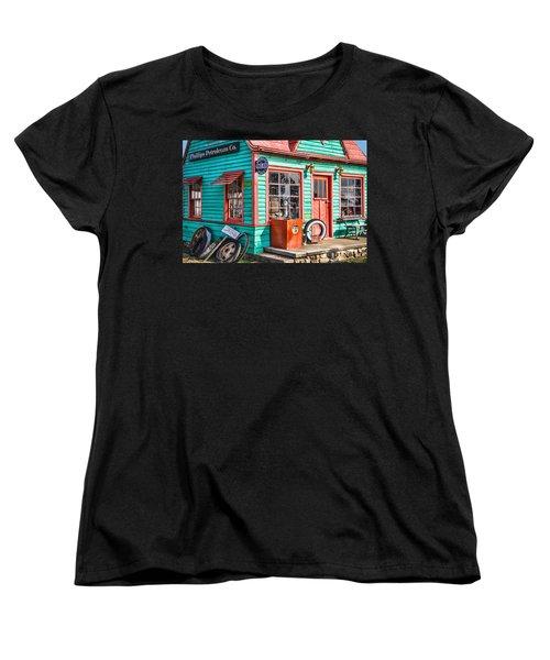 Vintage Phillips 66 Gas Women's T-Shirt (Standard Cut) by Steven Bateson