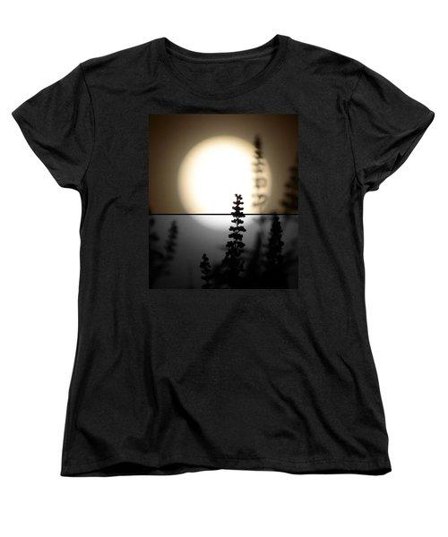 Vitex Moon Women's T-Shirt (Standard Cut) by Charlotte Schafer