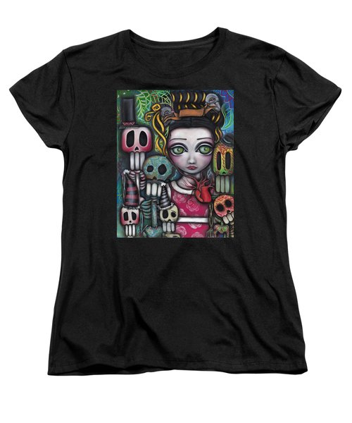 Viva La Vida  Women's T-Shirt (Standard Cut) by Abril Andrade Griffith