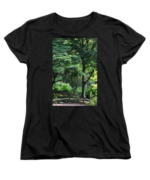 Vivacious Women's T-Shirt (Standard Cut) by Maria Urso