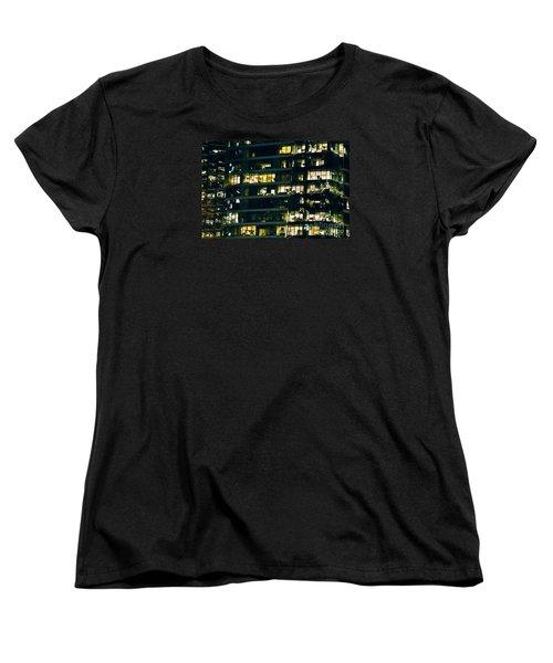 Women's T-Shirt (Standard Cut) featuring the photograph Voyeuristic Work Cclxvii by Amyn Nasser