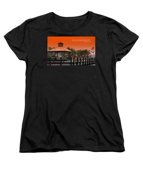 Wait On The Lord Women's T-Shirt (Standard Cut) by Pamela Hyde Wilson