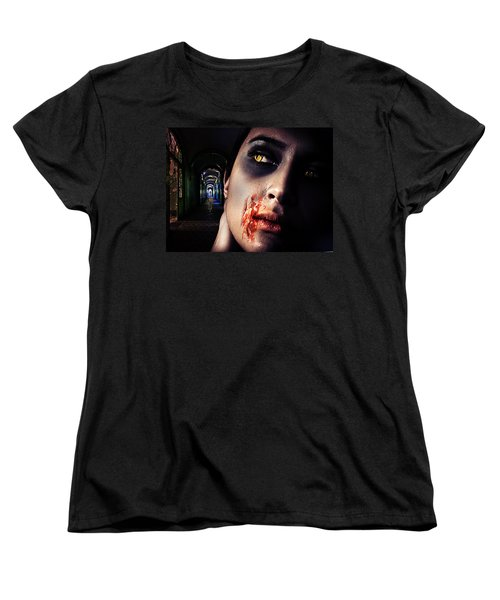 Waiting For You Women's T-Shirt (Standard Cut) by Nathan Wright