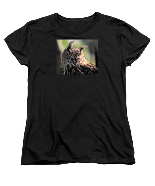 Women's T-Shirt (Standard Cut) featuring the photograph Wake Up by Leticia Latocki