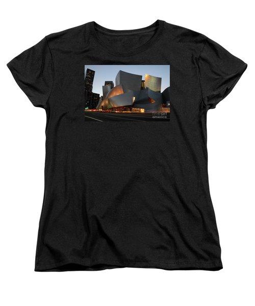 Walt Disney Concert Hall 21 Women's T-Shirt (Standard Cut) by Bob Christopher
