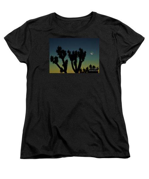 Women's T-Shirt (Standard Cut) featuring the photograph Waning by Angela J Wright