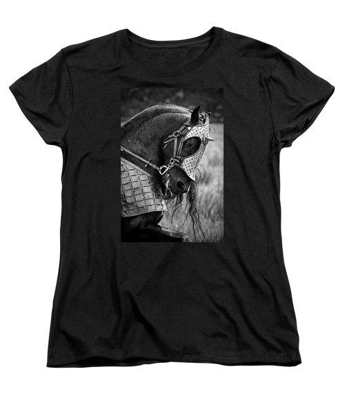 Warrior Horse Women's T-Shirt (Standard Cut) by Wes and Dotty Weber