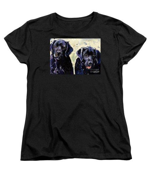 Water Boys Women's T-Shirt (Standard Cut) by Molly Poole
