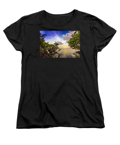 Water Sky Women's T-Shirt (Standard Cut) by Marvin Spates