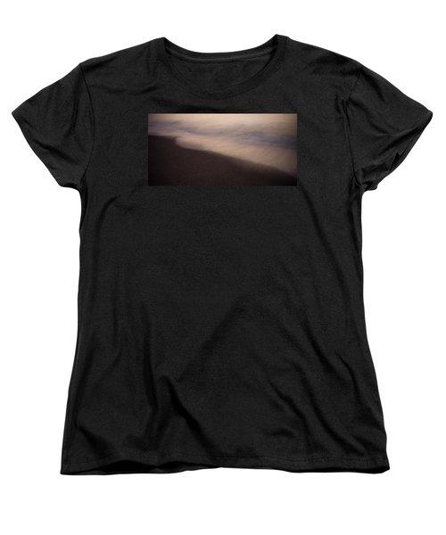 Waves Women's T-Shirt (Standard Cut) by Bradley R Youngberg