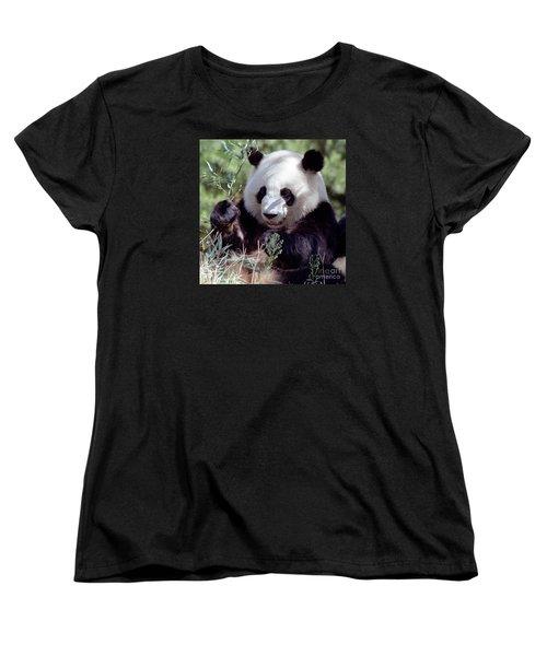 Waving The Bamboo Flag Women's T-Shirt (Standard Cut) by Liz Leyden