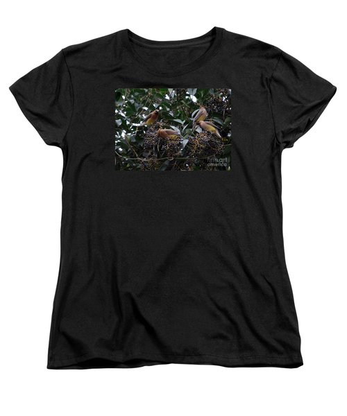 Wax Wings Supper  Women's T-Shirt (Standard Cut) by Skip Willits