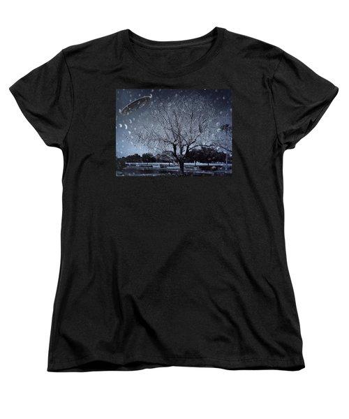 We Are Not Alone Women's T-Shirt (Standard Cut) by Carlos Avila