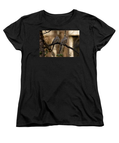 Women's T-Shirt (Standard Cut) featuring the photograph We Came Together - We're Leaving Together by Robert L Jackson