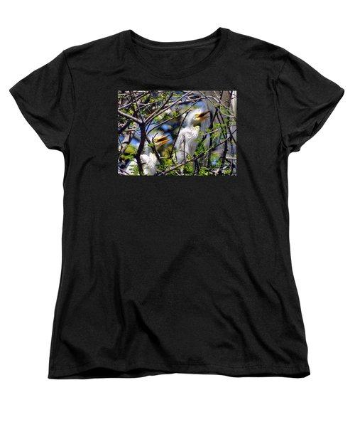 We Love You Mama Women's T-Shirt (Standard Cut)