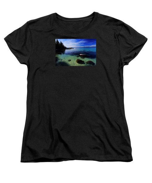 Women's T-Shirt (Standard Cut) featuring the photograph Welcome To Bliss Beach by Sean Sarsfield