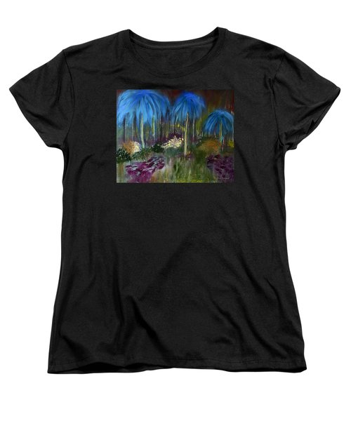 Welcome To The Jungle Women's T-Shirt (Standard Cut) by Dick Bourgault
