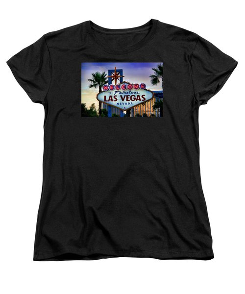 Welcome To Your Best Vacation Women's T-Shirt (Standard Cut) by Kasia Bitner