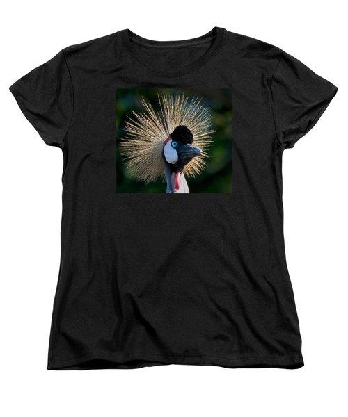 West African Crowned Crane Women's T-Shirt (Standard Cut)