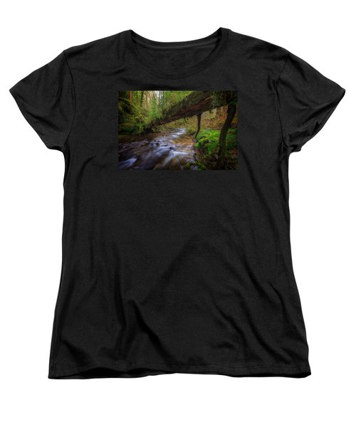 West Humbug Creek Women's T-Shirt (Standard Cut) by Everet Regal