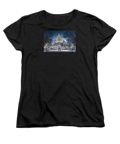 West Virginia State Capitol Women's T-Shirt (Standard Cut)