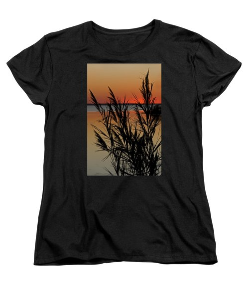 Women's T-Shirt (Standard Cut) featuring the photograph Whalehead Sunset Obx II by Greg Reed