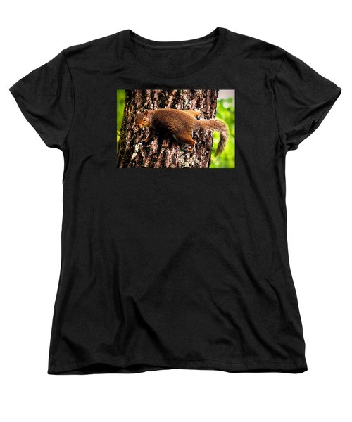 What Are You Looking At Women's T-Shirt (Standard Cut) by Tara Potts