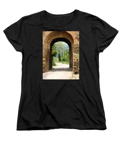 What Lies Ahead Women's T-Shirt (Standard Cut) by Ellen Henneke